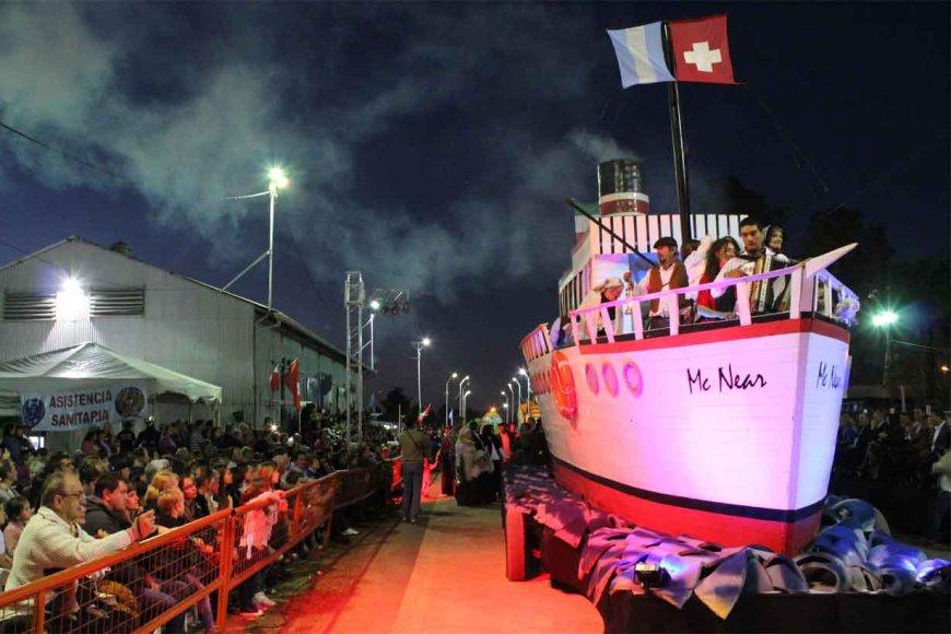 El barco, símbolo de la llegada de los colonos