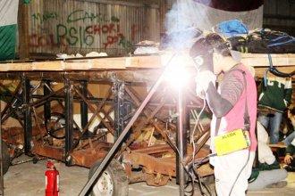 Finalmente, los estudiantes de Concordia podrán construir sus carrozas en la ex Estación Norte
