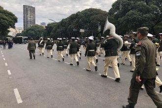 Así se prepara el desfile por el Día de la Independencia en la capital