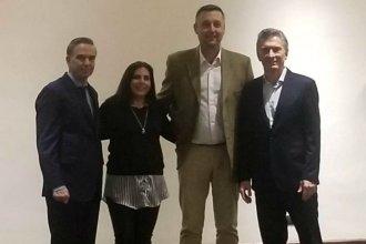 La foto de los precandidatos entrerrianos con Macri y Pichetto