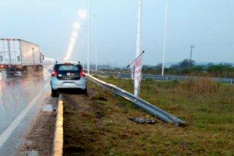 A tan sólo dos kilómetros de distancia: la autovía fue escenario de un nuevo accidente