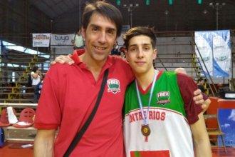 Unidos por la vida y por el básquet: padre e hijo, campeones argentinos con Entre Ríos
