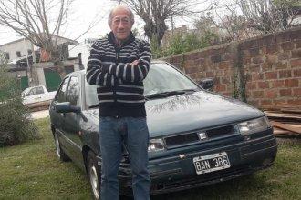 Concepción del Uruguay: encontraron sano y salvo al hombre que había desaparecido en su auto