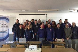 Capacitaron en gestión de instituciones a dirigentes deportivos de la región Salto Grande