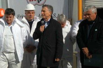 """En su visita a Entre Ríos, Macri habló de """"volver al mundo"""" y repudió el ataque al intendente Hein"""