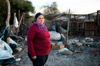 La creciente destruyó su merendero y pide ayuda para seguir dando de comer a los niños del barrio