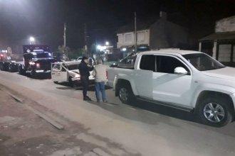 Choque en cadena en Concordia: colisionaron un remís, una camioneta y un camión