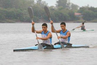 Los hermanos entrerrianos que competirán en el mundial de canotaje ya entrenan en Rumania