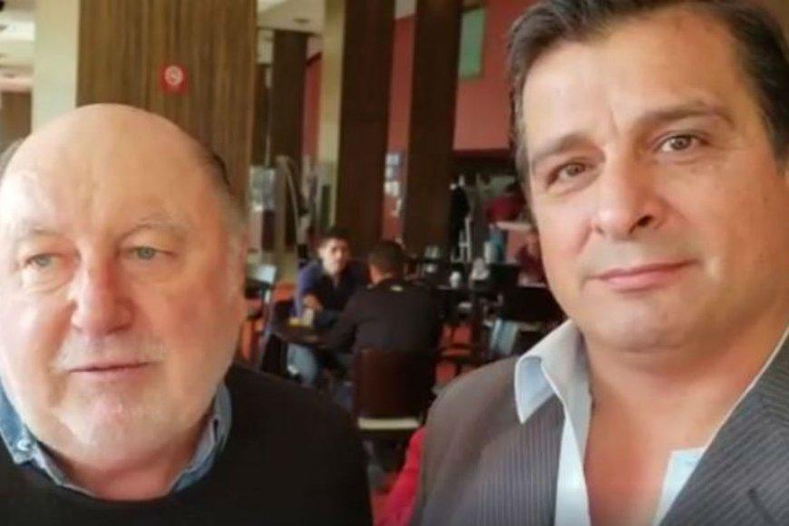 Busti y Casaretto, juntos en la campaña.