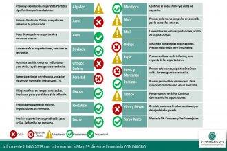 El semáforo de las economías regionales: Luz roja para citrus, arroz y forestaciones