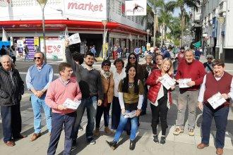 En plena campaña por la costa del río Uruguay, Kisser habló del riesgo de perder credibilidad