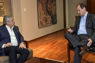 De cara a la llegada de Fernández, Bordet convocó a una reunión para definir acciones de campaña