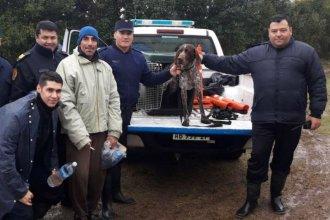 Un cazador se perdió en el monte y fue hallado tras un amplio operativo de búsqueda