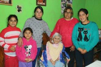 Murió la entrerriana que había sido noticia al cumplir sus 119 años el mes pasado