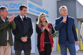 Cresto ponderó el trabajo articulado con Nación, pero criticó el modelo económico del gobierno de Macri