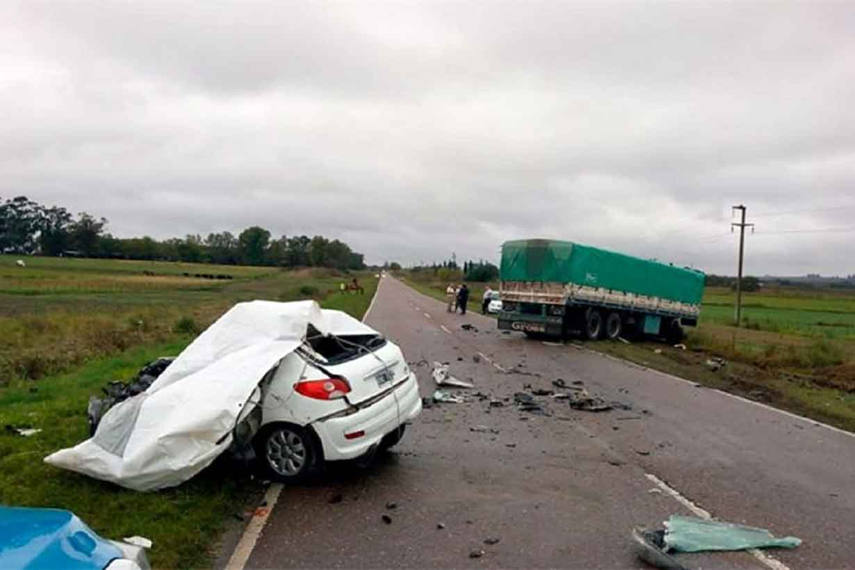 Un accidente fatal en Entre Ríos
