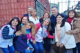 Los detalles de la sorpresiva visita de Macri a una escuela de Concordia, contados por la directora