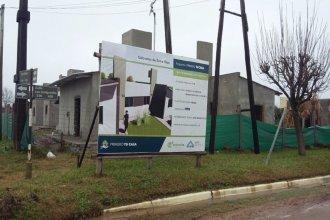 """""""Avanza a buen ritmo"""" la construcción de 18 viviendas del IAPV en localidad del departamento Concordia"""