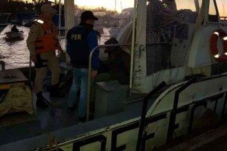 Condenado por abuso sexual se había refugiado en una isla cerca de Colón: Prefectura y policía lo detuvieron