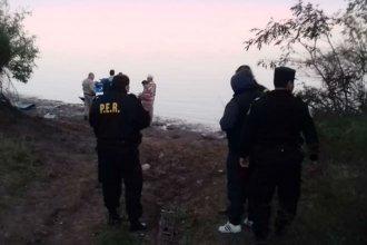 Embarcación sufrió un accidente en el río Uruguay: Una mujer falleció y un hombre fue rescatado