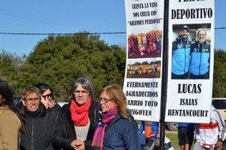 Inauguraron en Gualeguaychú un playón deportivo en homenaje a Lucas Bentancourt