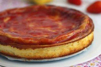 Torta de queso y naranja