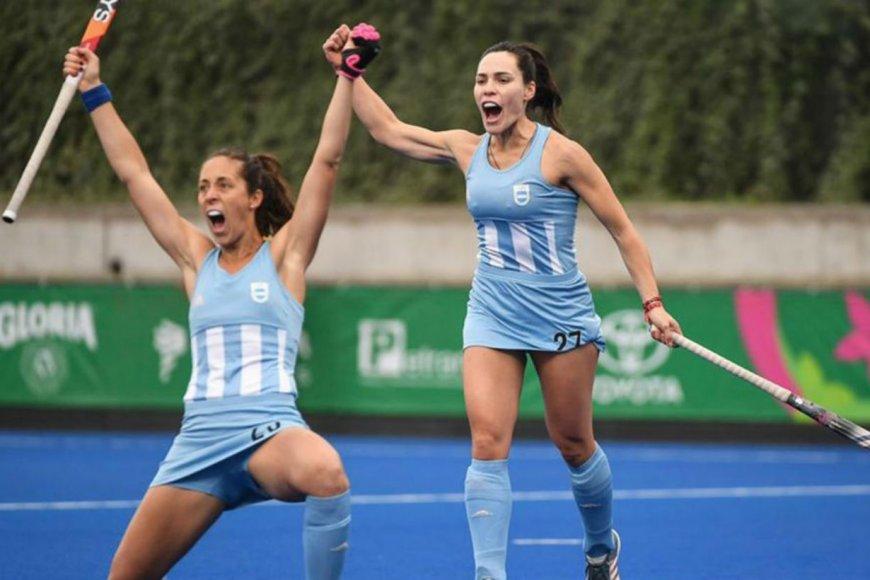 Resultado de imagen para Las Leonas ganaron la medalla de oro y clasificaron a Tokio 2020