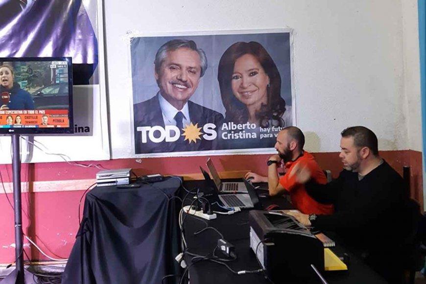 Fernández ganó en todo el país, menos en Córdoba y Capital Federal