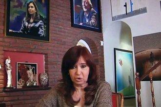 """Cristina Kirchner grabó un mensaje desde Río Gallegos: """"Muchos argentinos comprenden que las cosas deben cambiar"""""""