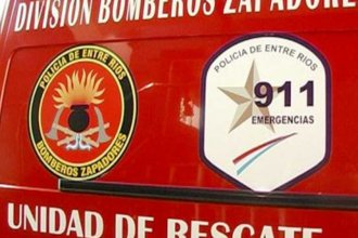 Un calefactor encendido generó un incendio: Un vecino alertó que salía humo de la vivienda