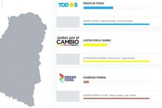 ¿Cómo se votó en cada uno de los 17 distritos entrerrianos?