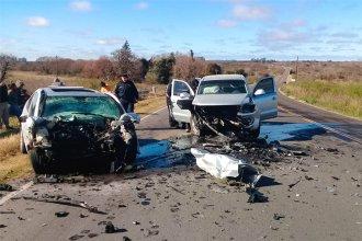Santafesino perdió la vida en ruta entrerriana al chocar de frente con una camioneta
