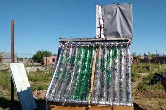Con la ayuda de jóvenes solidarios, escuela concordiense pudo estrenar su termotanque solar