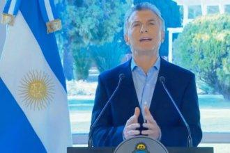"""""""Escuché lo que me quisieron decir el domingo"""", dijo Macri y anunció beneficios a trabajadores y Pymes"""