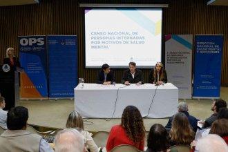 Presentaron los resultados del primer censo nacional  de internados por salud mental