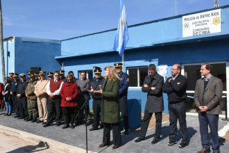 Una nueva comisaría abrió oficialmente sus puertas en Concordia