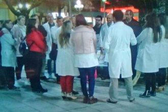 Médicos concordienses protestaron contra de la cobertura mediática del caso Pérez Volpin