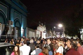 En Concordia, salieron a la calle para respaldar a Macri