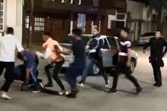 Batalla campal después de un baile dejó a varios jóvenes heridos