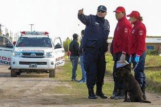 """No hay pistas sobre el hombre desparecido en Gualeguaychú: Más de 200 efectivos y la perra """"Uma"""" trabajan en su búsqueda"""