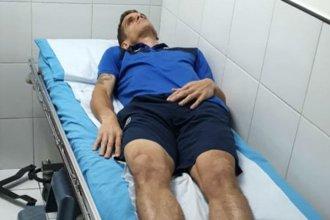"""""""Lo peor fue la gente fallecida"""", dijo el futbolista entrerriano herido en Honduras"""