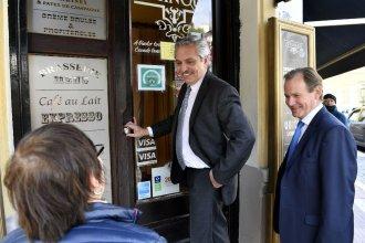 En plena campaña, Bordet y Fernández almorzaron juntos y analizaron la situación del país