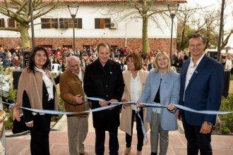 Comparando la Argentina actual con la de la época de Evita, Bordet inauguró un museo provincial