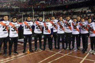 Joven entrerriano recibió el reconocimiento de Gallardo y los jugadores de River