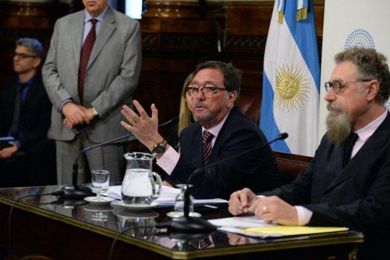 Guastavino explicó el proyecto que propone usar ATN para compensar a las provincias