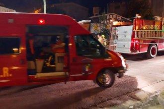 Un hombre murió al incendiarse su vivienda: Otras dos personas fueron atendidas por inhalación de monóxido