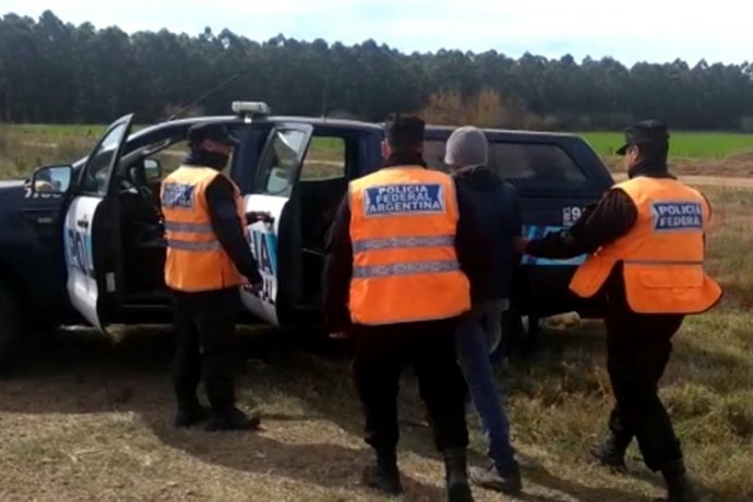 Detuvieron a un hombre con estupefacientes en la Autovía Artigas