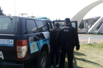En el ingreso a ciudad entrerriana, detuvieron un hombre buscado por robo