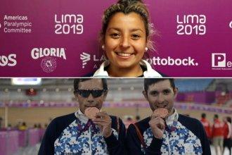 Más medallas para Entre Ríos, gracias a Antonella y Maximiliano en los Parapanamericanos