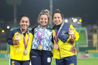 Esta vez fue la dorada: entrerriana volvió a brillar en Lima y se colgó su segunda medalla